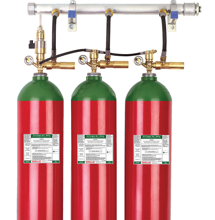 fire gas suppression system